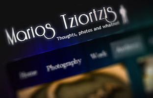 Marios Tziortzis Banner