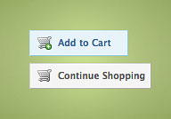 A typical menu with shopping cart buttons.