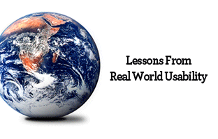 A Few Lessons From Real World Usability