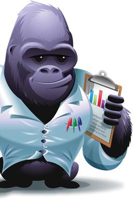 The Silverback Gorilla (Guerilla?). Oooh Oooh Ahh Aaah Aah!