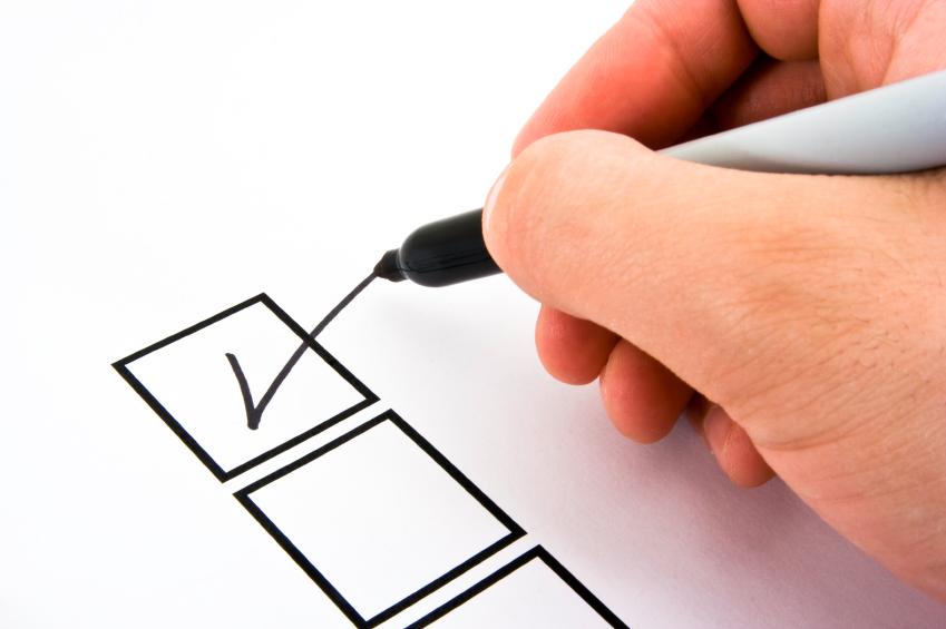 Quick Usability Checklist