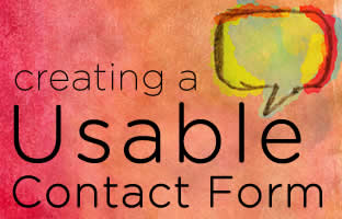 Creating a Usable Contact Form